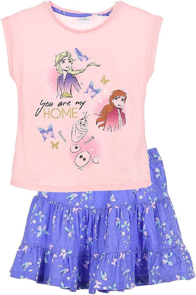 Shirtzshop Camiseta y Falda de Frozen