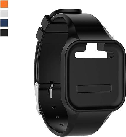 Golf Buddy Voice 2 Talking GPS Range Finder Watch Clip-On White/Gold (Open Box)