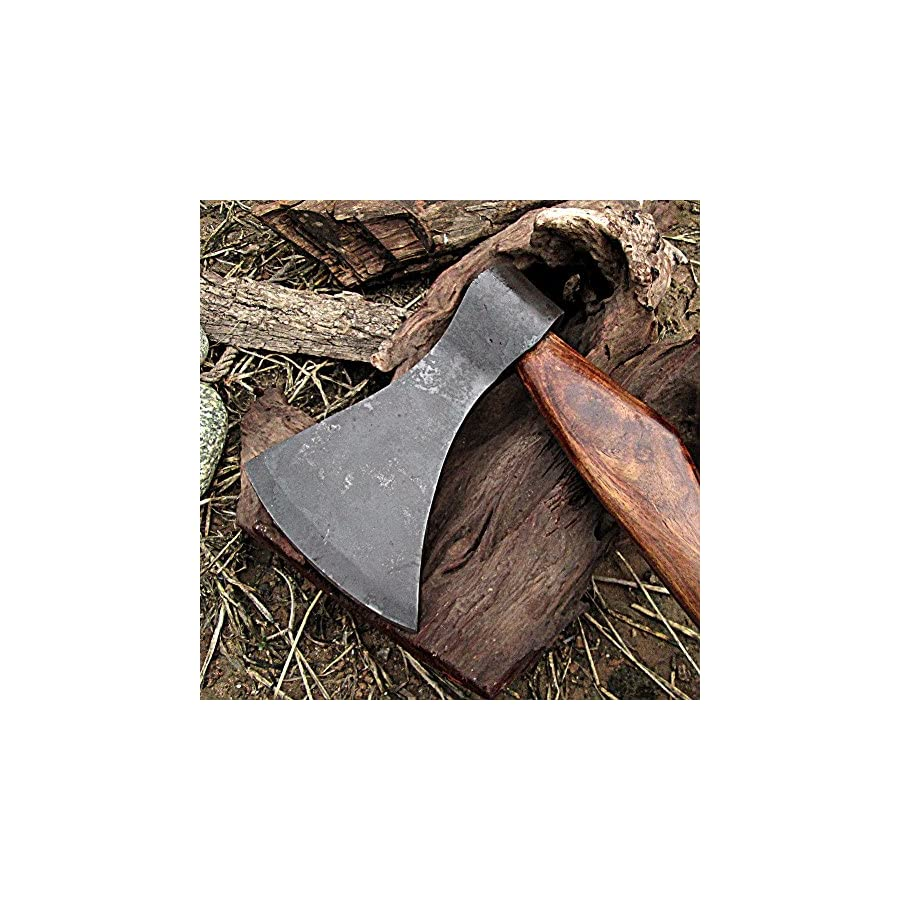 Viking Saga Traditional Wooden Battle Axe