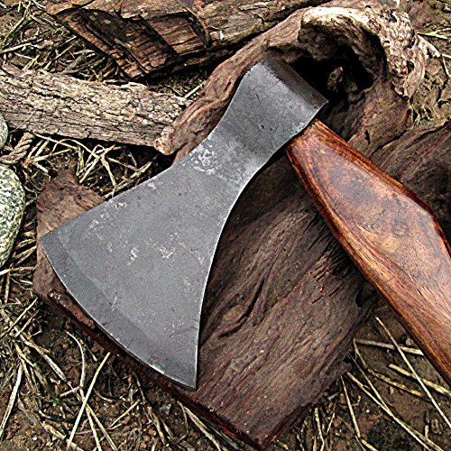 Viking Saga Traditional Wooden Battle Axe