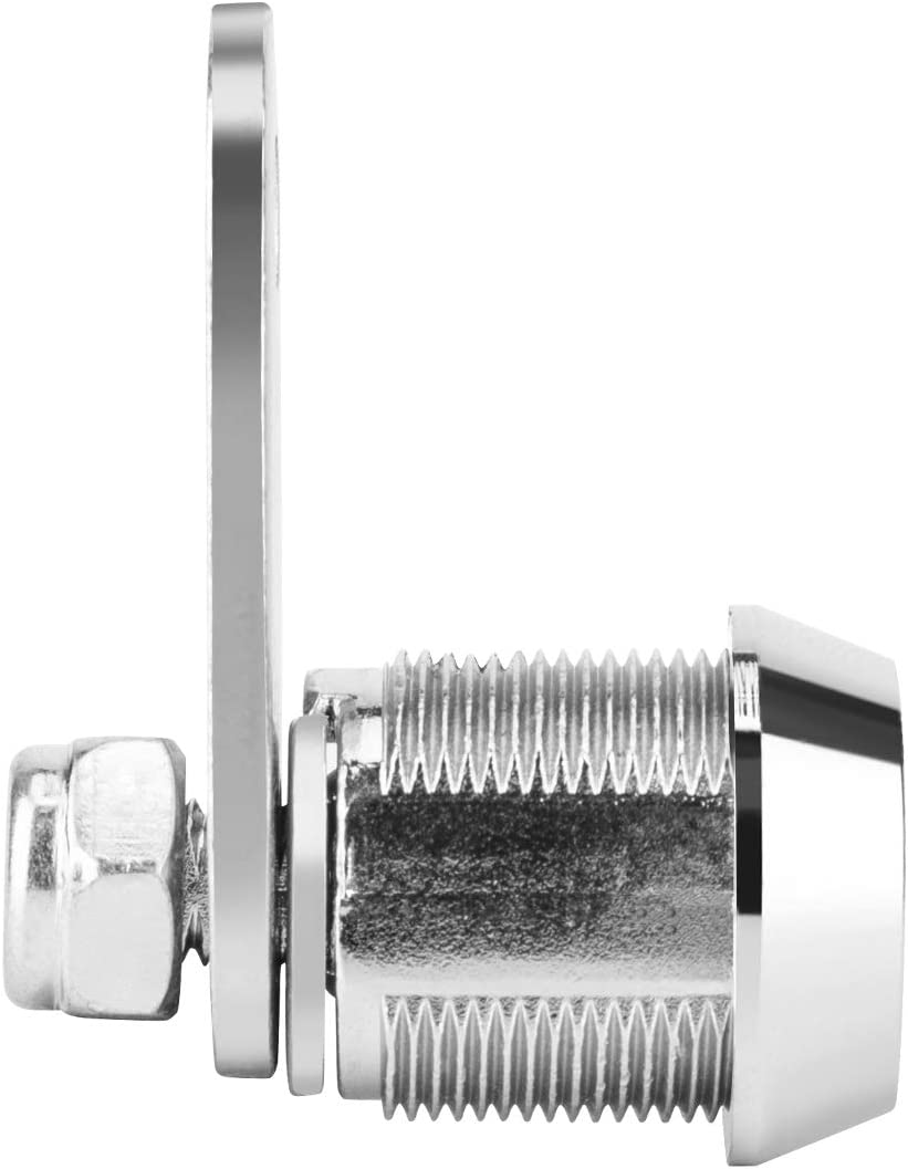 OCGIG 5PCS Tubular Cam Lock Replacement Tool Box Mailbox RV Car Key Alike Locks 17mm