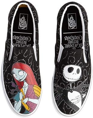 [VANS(バンズ)] Vans x The Nightmare Before Christmas Slip On バンズxナイトメアー・ビフォア・クリスマス ユニセックス靴...