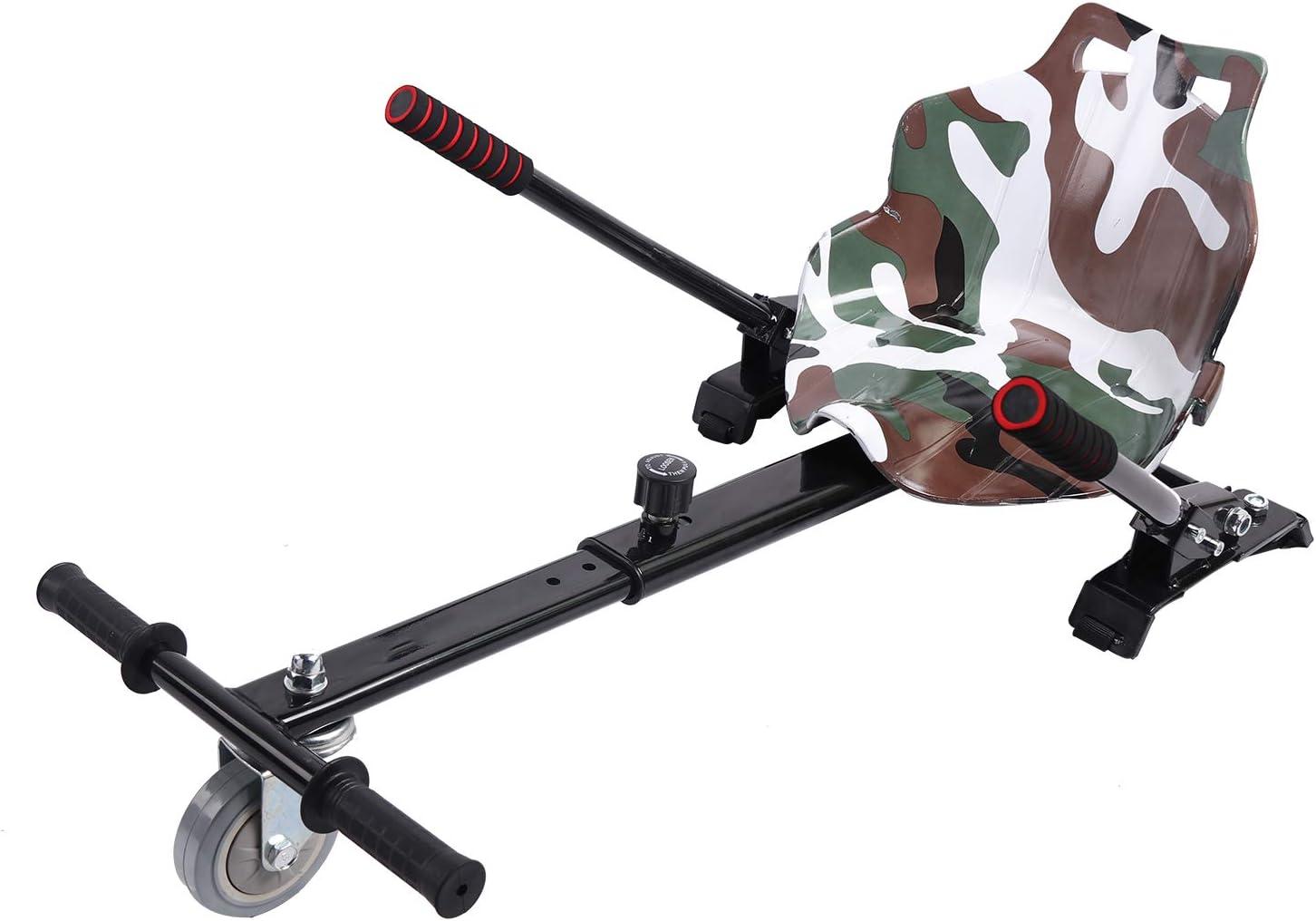 COLORWAY Sitz f/ür Hover Scooter Board Sitzscooter Hoverkart Go-Kart Sitz f/ür Elektro Scooter Self Balancing Scooter Kompatibel mit Allen 6,5 8.5zoll und 10 Zoll Scooter