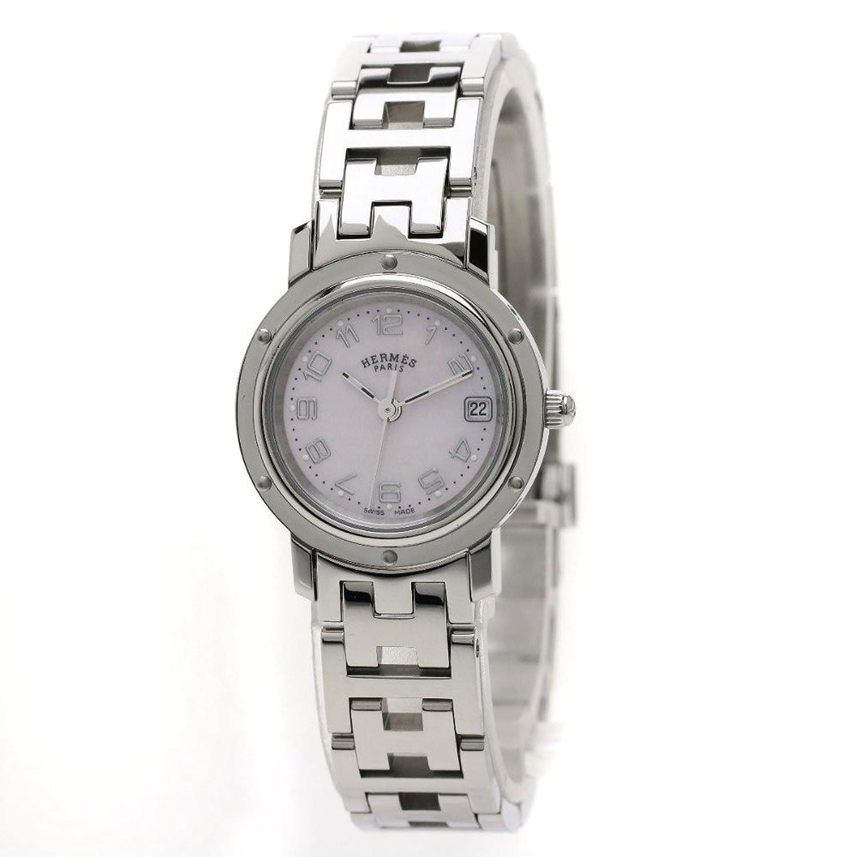 HERMES(エルメス) クリッパーナクレ  腕時計 ステンレス/SS レディース (中古) B07BNCKFBM