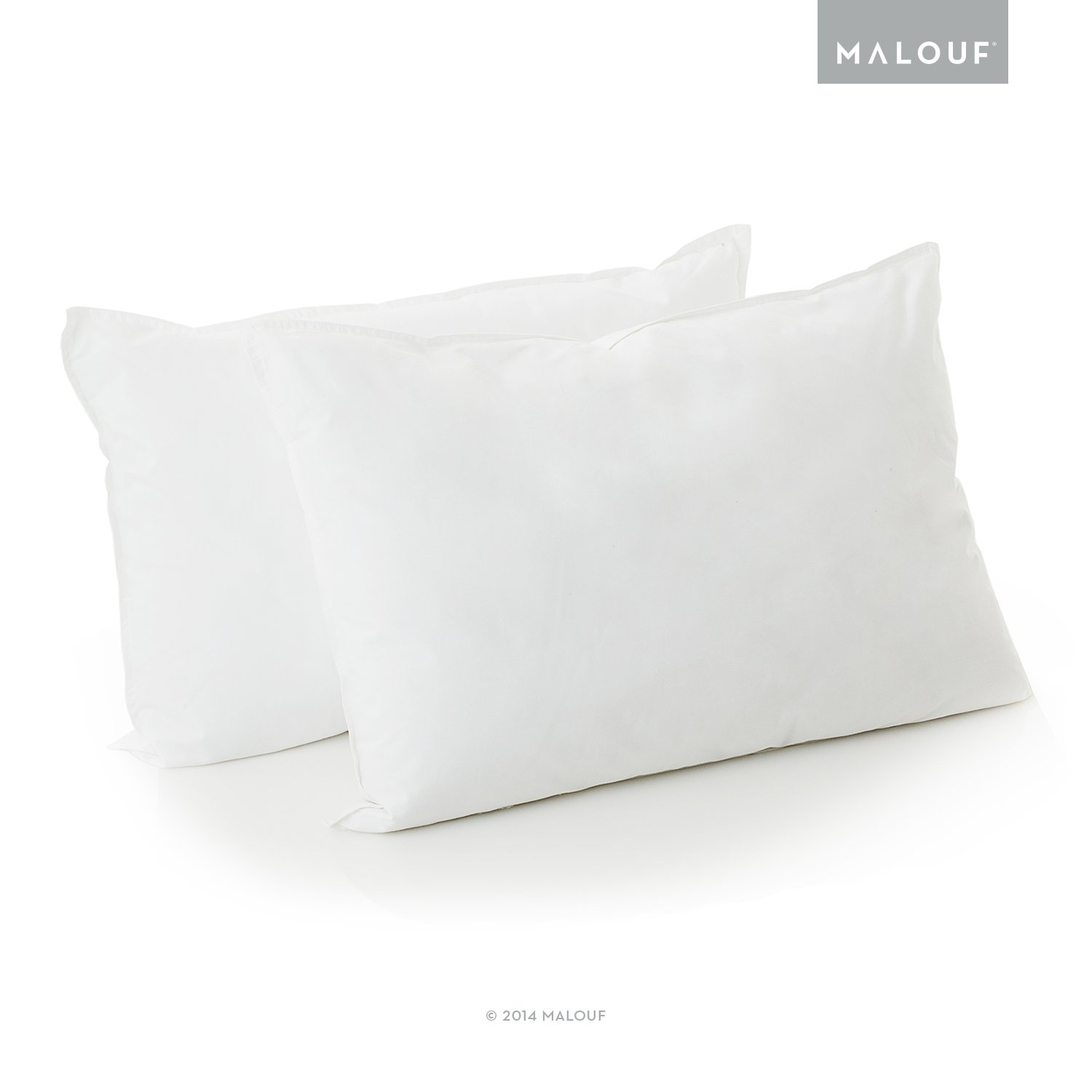 WOVEN Reversible Bed In a Bag Complete Bedding Set - Split Queen - Driftwood/Coffee by MALOUF (Image #9)