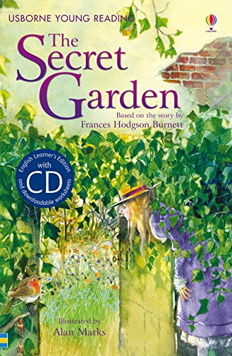 The Secret Garden. Book + CD  Usborne English Upper Intermediate  Young Reading Series 2