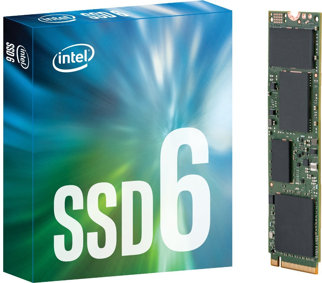 Intel DrivePEKKW010T7X1Solid State Drive 600P, 1 TB, PCIe, NVMe, M.2–Metallizzato