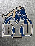 BYU Brigham Young University Cougars Stencil Painting Logo Symbol Metal Art Painting NCAA