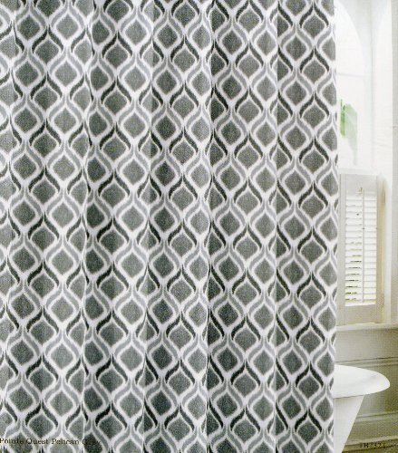 Tommy Bahama Pointe Quest Pelican Grey Shower Curtain