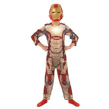 Rubbies - Disfraz de Iron Man para niño, Talla 3 - 4 años (R886927 ...