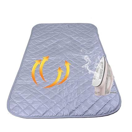 Holoras - Manta magnética para Planchar con Esquinas magnéticas, Resistente al Calor para Lavadora,