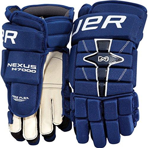 Bauer Nexus N7000 Hockey Gloves - Senior - 14 Inch - Black