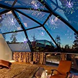 Boomlight Starburst Light, Outdoor String Light,Fairy Twinkle Night Lights, Globe Waterproof with Remote Control Power Source with Copper Wire for Bedroom,Wedding, Garden,Outdoor Decoration(Colorful)