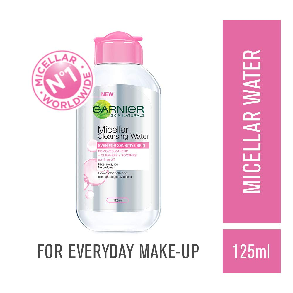 Garnier Skin Naturals, Micellar Cleansing Water, 125ml product image