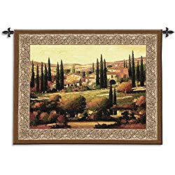 "Fine Art Tapestries ""Tuscan Gold"" Wall Tapestry"