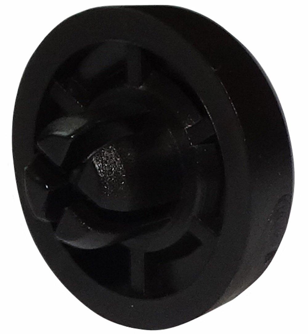 4/x Piedi pattini rotondi in PE H Ha embo/îter Aerzetix Nero 5/mm /ø19.5/mm per mobili