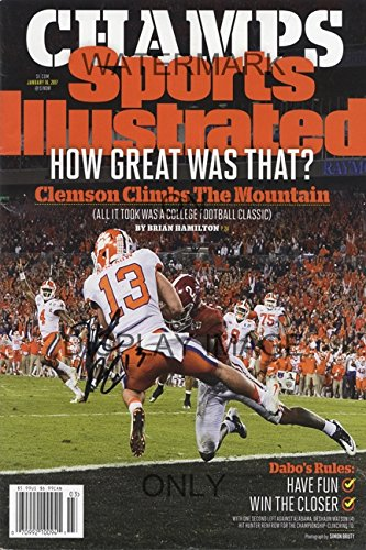 08440d68c8fd7 Amazon.com  Clemson Tigers National Champs Sports Illustrated Poster ...