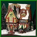 #8: Department 56 North Pole McElfin's Irish Restaurant & Gifts