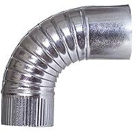 Theca - Codo 90º espesor 0,5mm diámetro 125mm
