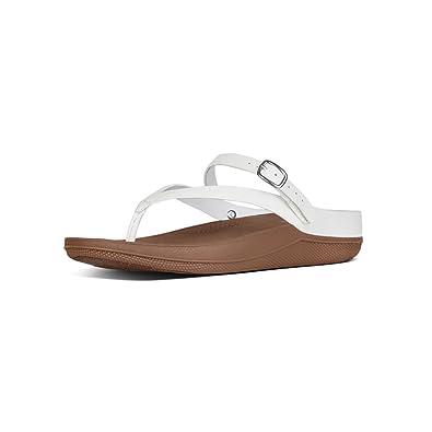 b97af460b500 FitFlop Flip TM Leather Sandal