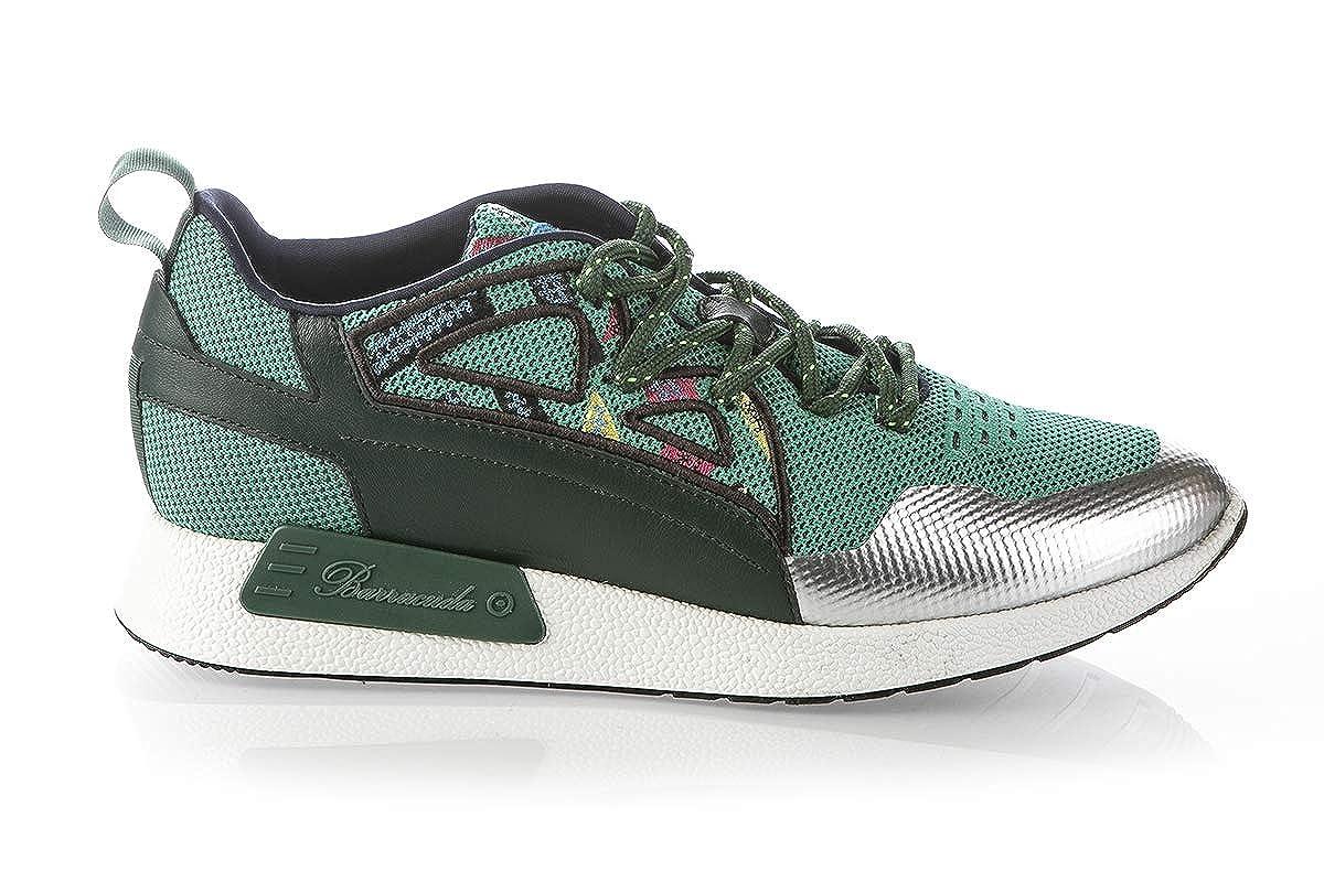 Acquista Fabi / Barracuda 6705 Green High Tech. Sneakers da Uomo in Tessuto Italiano. miglior prezzo offerta