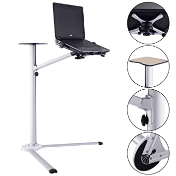 Great New Laptop Stand 360° Rotating Height Adjustable Tilting Bedside Floor Sofa