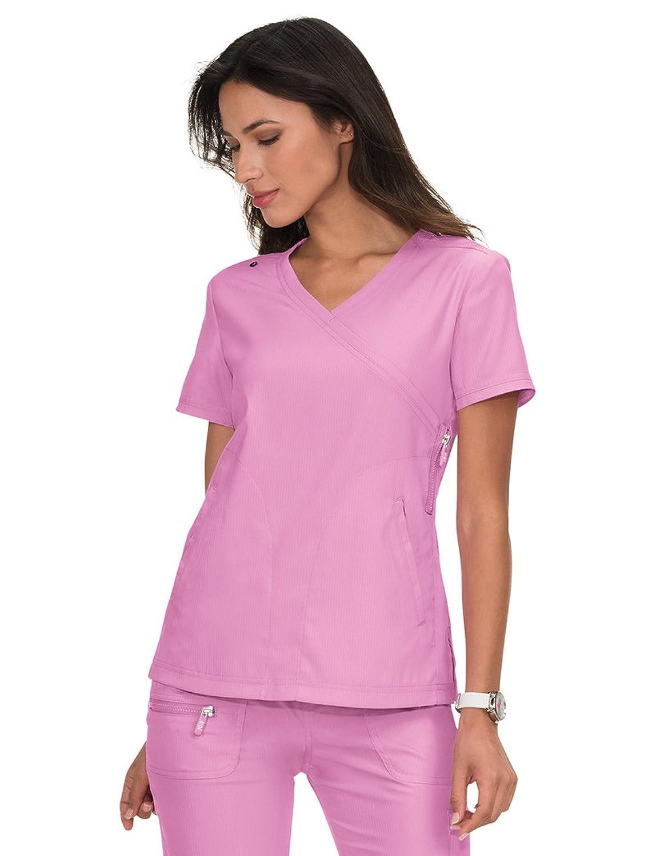 277ceee4b50 Online Cheap wholesale KOI Lite Womens Philosophy 316 Mock Wrap Side Zipper  Scrub Top Scrub Tops Suppliers