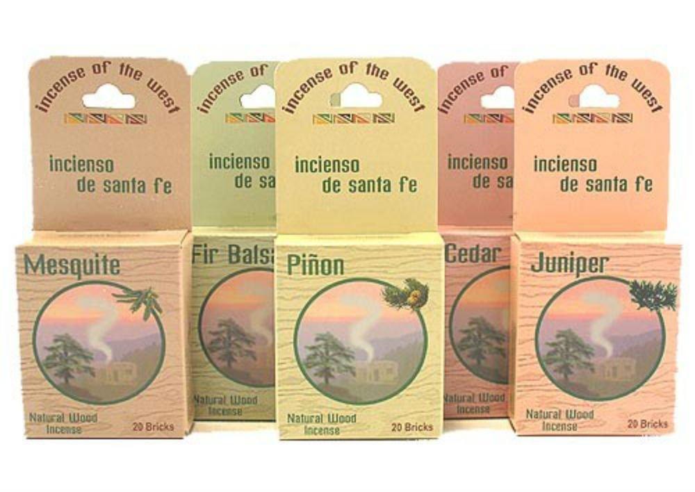 Inciensio Sante Fe : Best Seller Assorted 100 Incenseレンガ B016SFRF4E