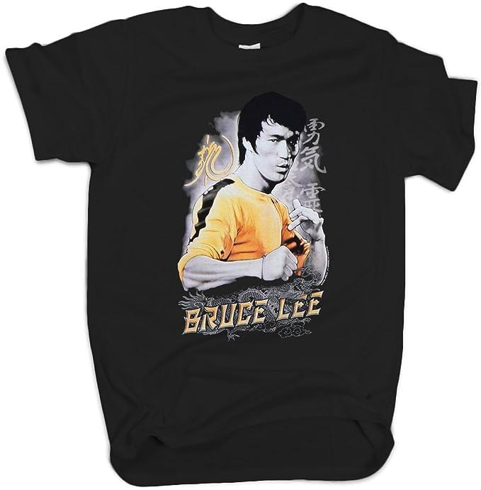 Amazon Com Bruce Lee Yellow Jumpsuit T Shirt Movie Short Sleeve