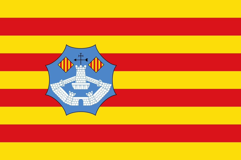 magFlags Bandera Large Menorca | Bandera Paisaje | 1.35m² | 90x150cm: Amazon.es: Jardín