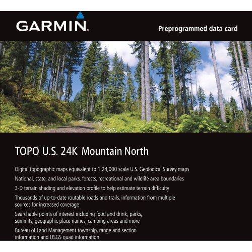 Garmin TOPO U S 24K Mountain