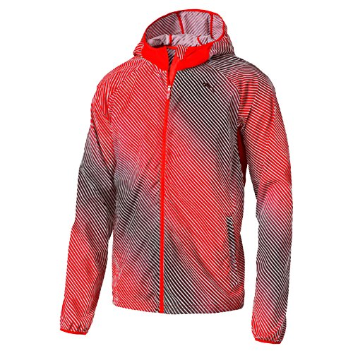 Puma PACKABLE WOVEN JACKET, Red, M