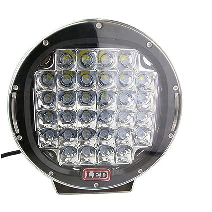 Luces LED circulares de 9 pulgadas para automoción, luz de trabajo de 9 pulgadas,