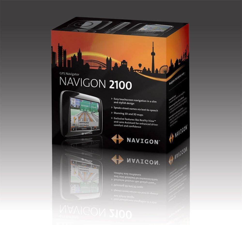 Navigon 2100 3.5-Inch Portable GPS Navigator