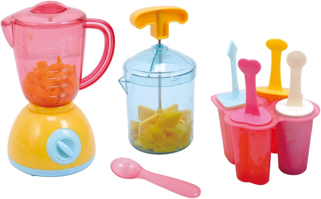 PlayGo My Ice Works 4 Set Shaped ICES Form with ICES Sticks Included Pretend Play for Toddlers & Kids