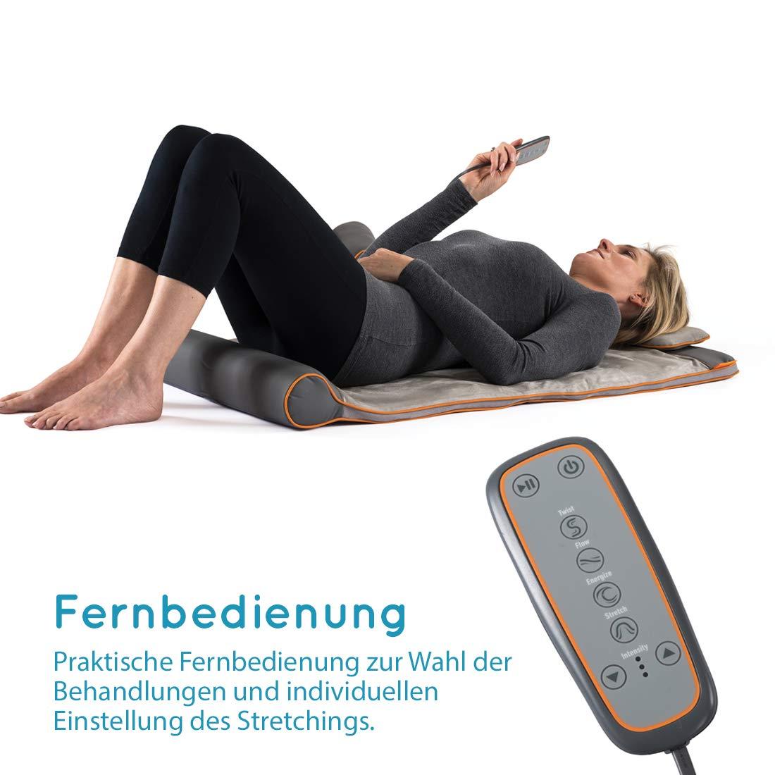 Anwendung der Homedics Stretchingmatte