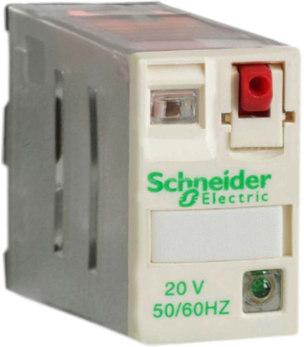 Zelio Rpm 1 C//O 230 V Ac Schneider Electric RPM11P7 Relay 1NO 15A 230VAC 15 A Power Plug-In Relay