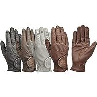 Hy5 mamamemo de equitación guantes, color - marrón