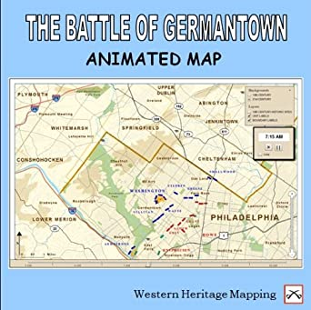 amazon com battle of germantown animated map v1 0 download software