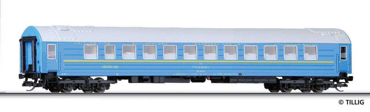 Tillig Weitstreckenschlafwagen CSD 16701 Tillig Modellbahnen GmbH