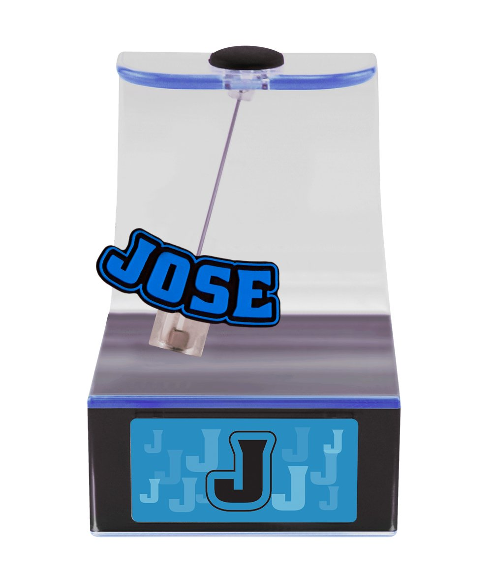 The Swing Thing Jose Solar Powered Personalized Dancing Desk Accessory with Swinging Name