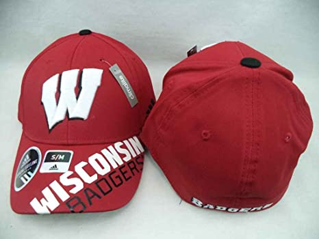 877143d2d6081 Amazon.com : adidas Wisconsin Badgers NCAA 2014 Sideline Player Flex ...