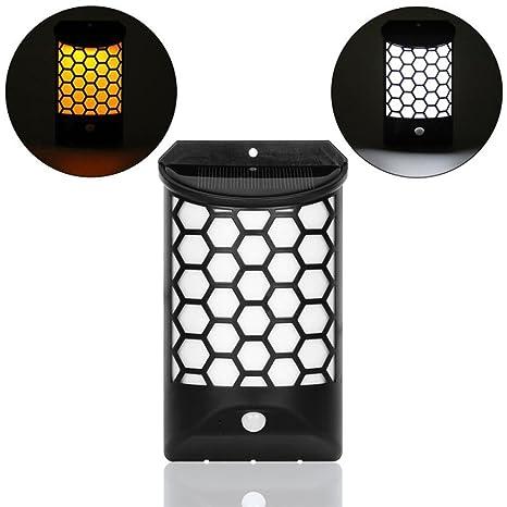 STRIR Luz de solar LED/foco LED con Sensor de Movimiento, Profesional IP65 a
