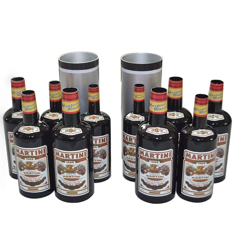 Enjoyer Multiplying Bottles/Moving Increasing Black Bottles Magic Tricks Props Stage Magician Illusion (10 Bottles,Poured Liquid) by Enjoyer (Image #3)