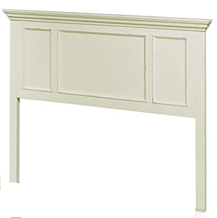 94e551b9311b8 Amazon.com  Home Styles 5427-601 Dover King Headboard Antique White ...