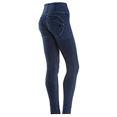 Freddy Wr Up High Rise Denim Effect Skinny Push Up Shaping Pants
