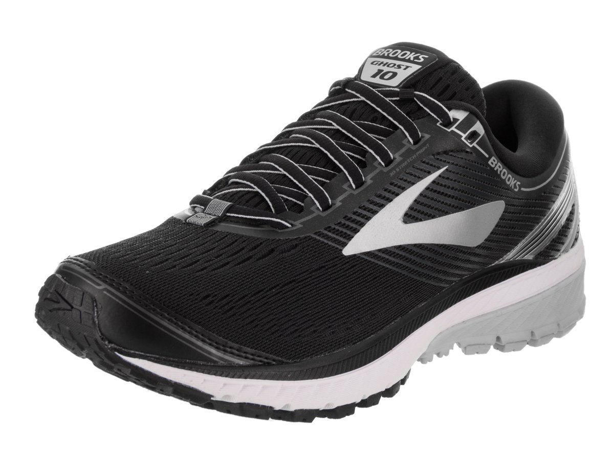 [ブルックス] BROOKS メンズ ランニングシューズ ゴースト10 B01N02Z0JF 14 D - Medium|Black/Silver/Ebony Black/Silver/Ebony 14 D - Medium