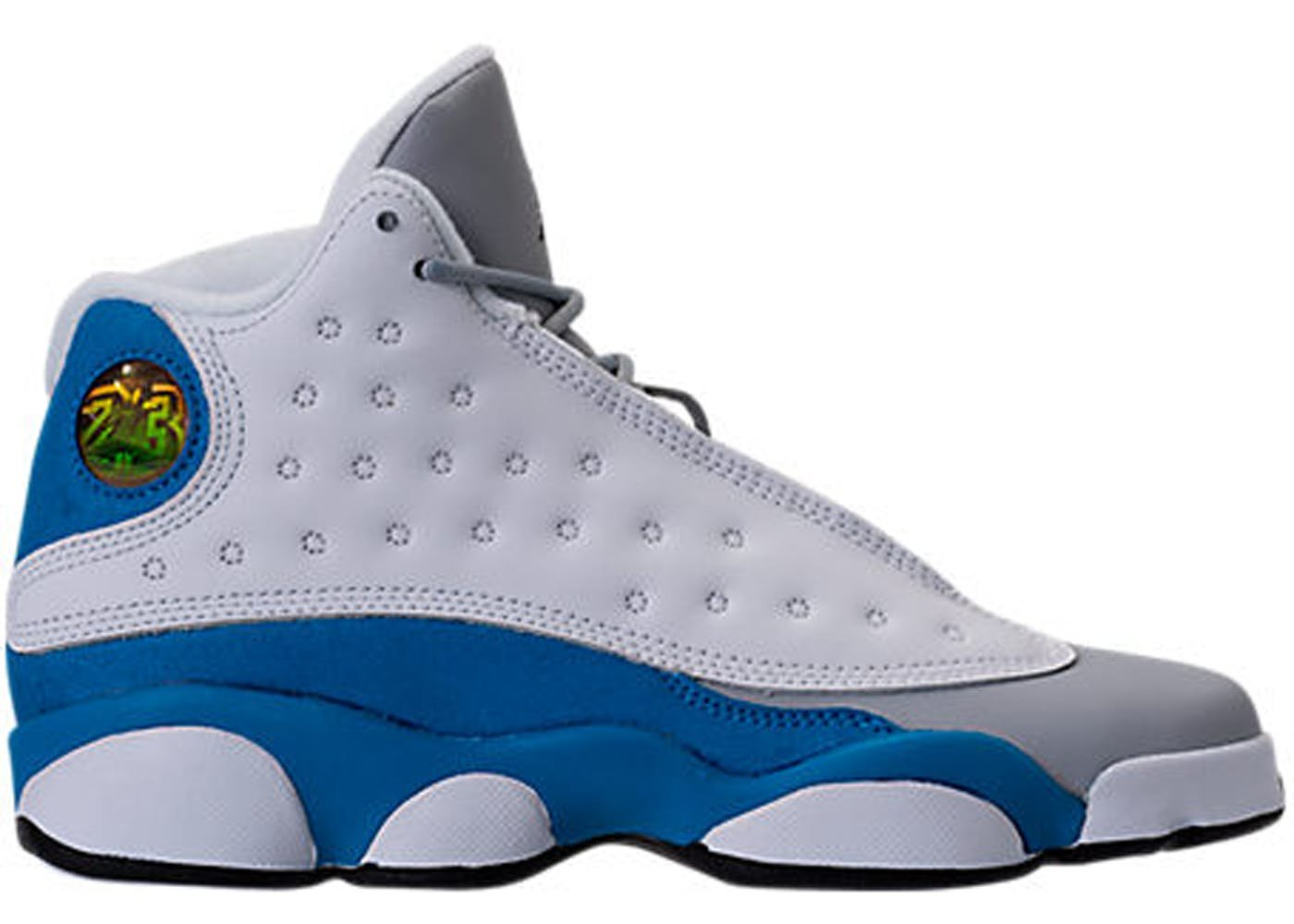 Jordan Retro 13'' Italy Blue White/Italy Blue-Wolf Grey (Big Kid) (6 M US Big Kid)