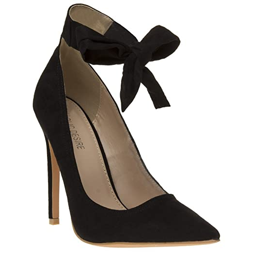d25cb60eded Image Unavailable. Image not available for. Color  Public Desire Muse Womens  Shoes Black