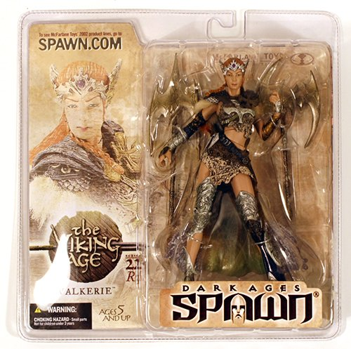 Spawn series 22 R3 VALKERIE Repaint Variant Action Figure RARE! by McFarlane Toys